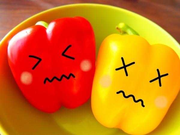 食べ物の好き嫌いが違う
