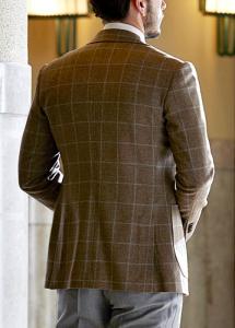トラッドスーツのジャケット丈