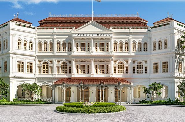 歴史的要素が楽しめる「ラッフルズホテルシンガポール」