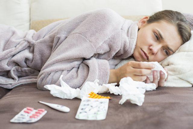 彼女の体調不良が風邪の場合