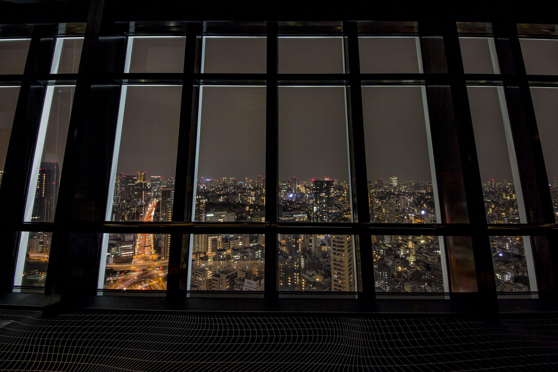 東京タワーの特別展望台