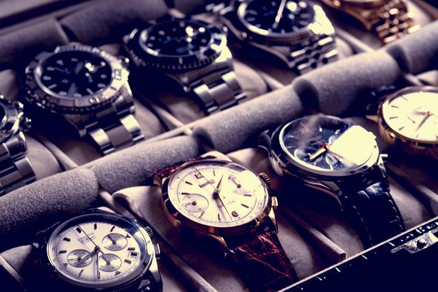 高級腕時計を購入せず身に着けられる